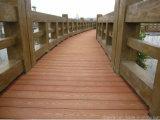 Pavimentazione esterna composita di plastica di legno di Decking di WPC