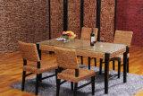 De Lijst van het Meubilair van het Restaurant van de Eetkamer van het Meubilair van de rotan