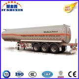 Asse 3 45000 litri del acciaio al carbonio del combustibile di autocisterna del camion di rimorchio semi con 5 scompartimenti