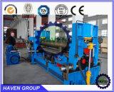 machine à cintrer de plat hydraulique de 3 rouleaux avec le double pincement W11S-10X3000