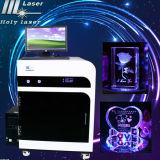 3D Laser 수정같은 조각 기계 Hsgp-2kd