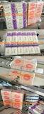 Presse de papier d'essuie-main de main de machine à emballer de tissu facial de 10 sacs