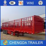 Des China-3 Ladung-Sattelschlepper Wellen-Ladung-Kasten-LKW-Schlussteil-60t