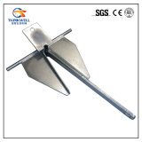 Ancoraggio marino d'attrezzatura galvanizzato di Danforth dell'ancoraggio della passera del hardware del TUFFO caldo