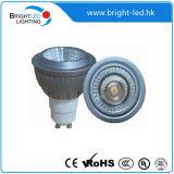 Lampada calda del punto dell'annuncio pubblicitario 8W GU10 LED