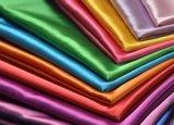 Tissu de polyester/satin de Spandex