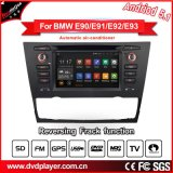 BMW 3 E90 E92 E93無線GPSの人間の特徴をもつ電話接続のためのHla8798車DVD