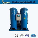 Generador de lanzamiento rápido del nitrógeno para el conjunto del alimento