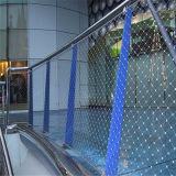 Сетка веревочки нержавеющей стали для сетки лестницы