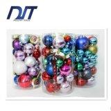 Las decoraciones de las bolas de la Navidad venden al por mayor el plástico que adorna las bolas de la Navidad fijadas