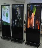 プレーヤー、デジタル表記を広告する50インチLCD