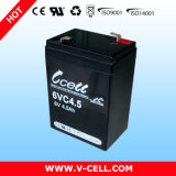 AGM 6V4.5ah/Gel Lead Acid Sealed Battery