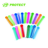 Orthodontic dental Ligature Tie para Brace con Various Colors