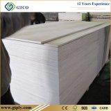 madera contrachapada comercial de la tarjeta de la chapa del abedul de 19m m