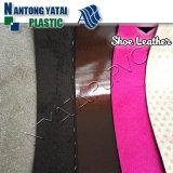 온갖 패턴 디자인 직물 단화 갑피를 위한 물자 PVC 가죽