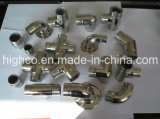 Guarniciones del carpintero del rubor del tubo de la barandilla del acero inoxidable