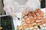 2016 горячих продавая перчаток винила порошка устранимых перчаток верхнего сегмента свободно для пищевой промышленности