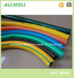 PVCプラスチック適用範囲が広い編みこみのファイバーのホース水潅漑のガーデン・ホース