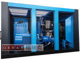 Compresseur rotatoire jumeau de compresseur de vis