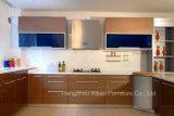 Brown-hohe Glanz-Lack-Ende-Küche-Schrank-Möbel