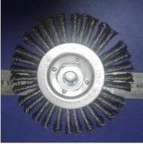 Balai Twisted de joint de fil de fil en laiton de 12 pouces pour l'usage le béton