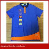 Hiqh 질 나의 로고 (P151)를 가진 100%년 면 불쾌 Mens에 의하여 주문을 받아서 만들어지는 폴로 t-셔츠