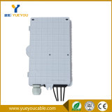 1*4 PLC Splitter IP65 Protection Level 4 Fibras Caja Terminal para FTTH