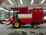 과일과 잔디 탱크를 가진 젖은 땅콩 피커 기계