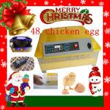 48 Incubator van het Ei van de Kip van Ce van eieren de Automatische Mini (YZ8-48)