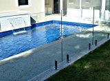 최고 질 304/316 스테인리스 Frameless 유리제 수영장 검술하거나 난간 또는 발코니 유리제 방책