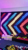 Pub와 Stage를 위한 Animated Pattern를 가진 LED Vision Curtain