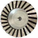 Абразивный диск чашки диаманта Turbo высокого качества плоский