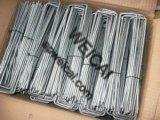 鋼鉄ファブリックおよび芝地のステープル