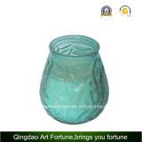 Vela de cristal del tarro de la citronela para la decoración al aire libre