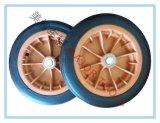 عجلة مطّاطة صلبة, حامل متحرّك, عجلة, 12 بوصة [ترش كن], عجلة, وأخرى [سبسل توول] عجلة