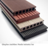 Decking de WPC pour l'horizontal extérieur de plancher