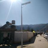 6W-120W ao ar livre integrou tudo em uma luz de rua solar do diodo emissor de luz do jardim solar
