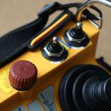 Controlemechanisme van Radio Remote van de Bedieningshendel van de Vrachtwagen van de Concrete Pomp van gelijkstroom 12V het Dubbele