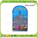 Ricordo promozionale personalizzato Israele (RC-IL) dei magneti del frigorifero del PVC della decorazione dei regali a casa