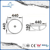 Dispersore di lavaggio del Governo del bacino di ceramica di arte e della mano superiore di vanità (ACB8029)