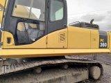 Máquina escavadora usada de KOMATSU PC360-7, máquina escavadora grande pesada da maquinaria de mineração da construção