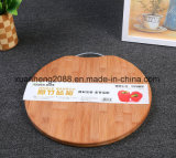 Placa de estaca de bambu vegetal do uso de bambu do lado do dobro do Kitchenware