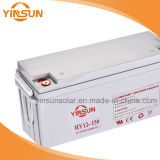 batterie solaire de 12V 150ah pour le système d'alimentation solaire