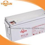 bateria solar de 12V 150ah para o sistema de energia solar