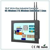 """10.4 """" PC Fanless миниых с Двойн-Сердечником 1.86GHz для промышленного применения"""