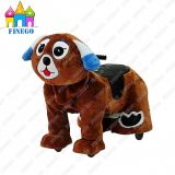 Plush Dog Fun Kiddie Rides Zippy Animal Walking Car for Shopping Centre