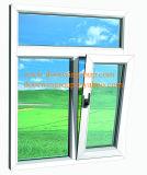 Ventana que aterroriza de aluminio del color blanco de la buena calidad para el edificio, superior de aluminio calificado colgado/fabricante de la ventana del toldo