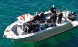 Barca di alluminio di immersione subacquea con la baracca
