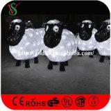 La décoration de Noël allume l'agneau de DEL