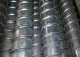 Pila de tierra galvanizada del tornillo para el sistema de energía solar del montaje